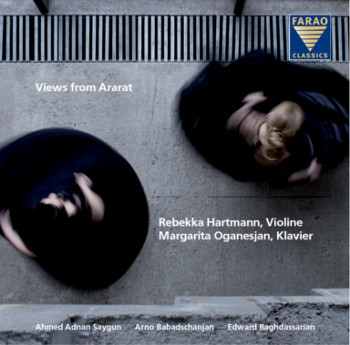 Views from Ararat - Rebekka Hartmann - Violine & Margarita Organesjan - Klavier